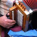 Manuel José, pormenor da concertina. Soito da Ruiva, 2007.
