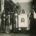 Festa das Três Marias na Benfeita (Dorinda, 1ª esq.)