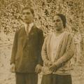 Maria da Conceição e o irmão Artur, nos tempos de solteira (1920)