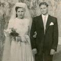Casamento de Isaura de Jesus (Igreja do Lumiar, Lisboa, 10 de Fevereiro de 1947)