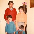 Filho Rogério, Adélia e netos
