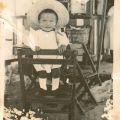 Filho Natalino, aos 2 anos