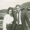 Maria das Dores, esposa, e Eliseu Fonseca (Benfeita, 1961)