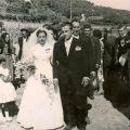 Casamento de Lucrécia e Adelino Fonseca (Benfeita, 10 de Setembro de 1960)