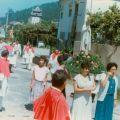 Festa da Nossa Senhora da Assunção (Agosto, 1988), Dores (à dta. com vestido azul)