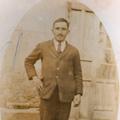 O pai Manuel Sousa da Silva, nas Minas de Carvão (Astúrias, 1921)