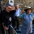 Alice Fontinha com os irmãos (Covita, 2009) - Fotografia: Sérgio Andrade