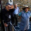 José Moura Fontinha com os irmãos (Covita, 2009) - Fotografia: Sérgio Andrade