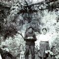 Maria Benvinda Pereira e marido nos Barreiros