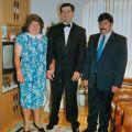 Casamento do sobrinho Vitor