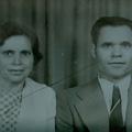 António Moura Pereira e a esposa, Deolinda Augusta da Costa