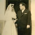 Casamento de António com Arminda (Monte Frio, 6 de Agosto de 1959)