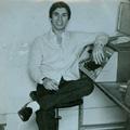José Francisco, filho de José Martins Francisco, na redacção do jornal onde trabalhava