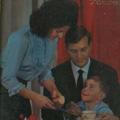 José Martins Francisco com a esposa e o filho