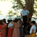 Fernando Francisco a vender as ofertas (Monte Frio, 4 de Agosto de 1984)