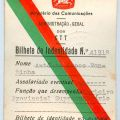 BI dos CTT de António Lopes Fontinha (1 de Outubro de 1968)
