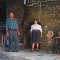 António Lopes Fontinha com a esposa, Elvira Lopes do Anjos (Piódão, 2007)