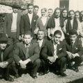 Casamento de António Lopes Fontinha com Elvira Anjos Fontinha (Piódão, 11 de Fevereiro de 1961)