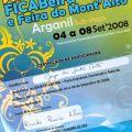 Diploma de participação na XXVII FICABEIRA (4 a 8 de Setembro de 2008)