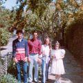 Filhos de Jorge Costa na Primeira Comunhão da sobrinha Joana (2003)