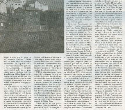 Notícia publicada na Comarca de Arganil, em 28 de Janeiro de 2009 (continuação)