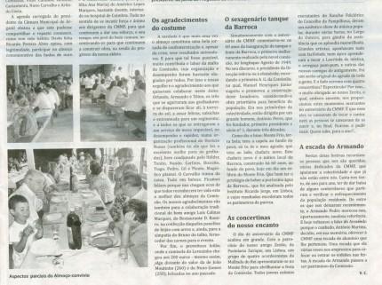 Notícia publicada no Jornal de Arganil, em 10 de Setembro de 2009 (continuação)