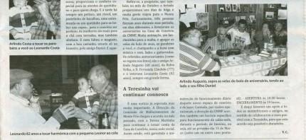 Notícia publicada no Jornal de Arganil, em 10 de Dezembro de 2009 (continuação)