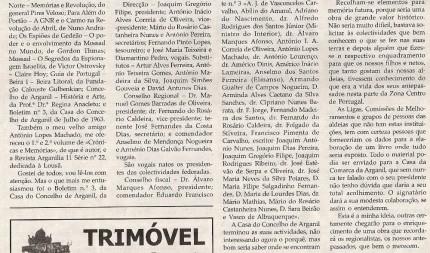 Notícia publicada na Comarca de Arganil, em 14 de Janeiro de 2009 (continuação)
