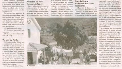 Notícia publicada no Jornal de Arganil, em 2 de Outubro de 2008 (continuação)