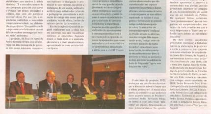 Notícia publicada no Jornal de Arganil, em 27 de Novembro de 2008 (continuação)