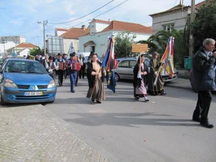 Desfile no Feijó