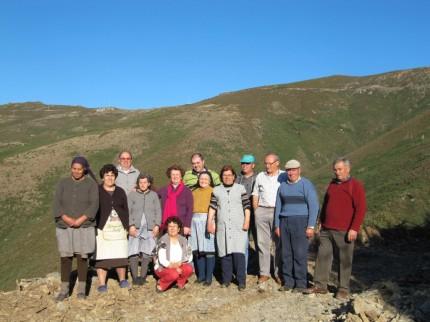 Um grupo na Avesseira