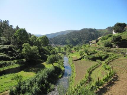 Linda paisagem - Ribeira de Pomares