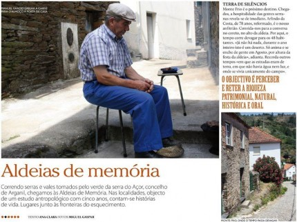 Notícia publicada na EPICUR (Setembro de 2011)