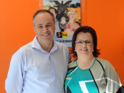 Ricardo Bastos e Teresa Neves