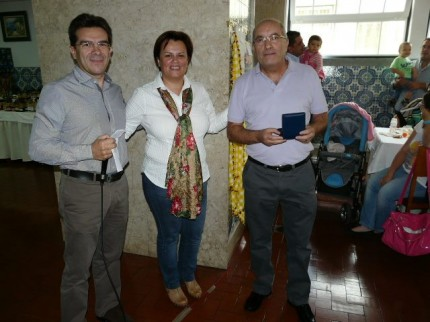 Manuel Rosa Neves recebeu a medalha do seu irmão António Rosa Neves