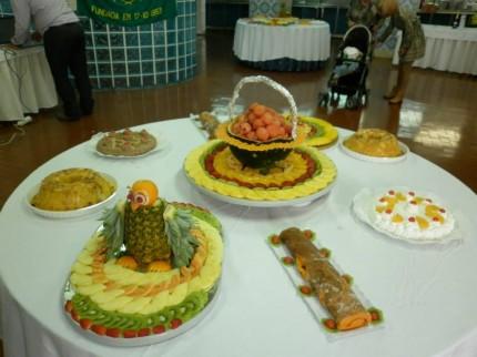 Aspecto apetitoso das mesas II