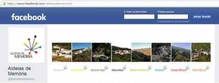 Facebook Aldeias de Memória